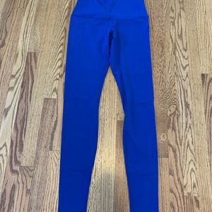 LuluLemon Sz 8 Blue Wonder Under Pants *worn once*